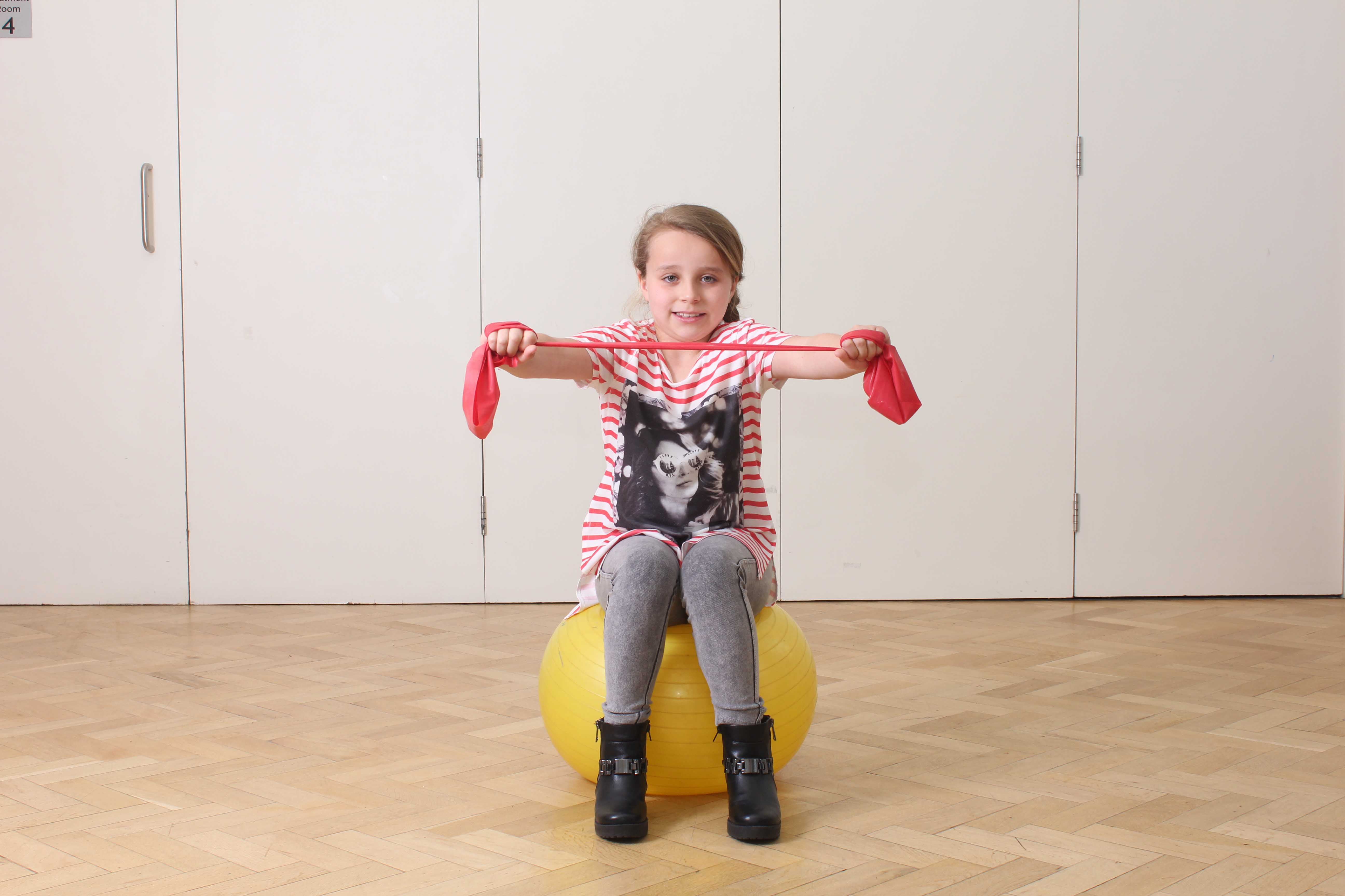 Encouraging strengtheing through play